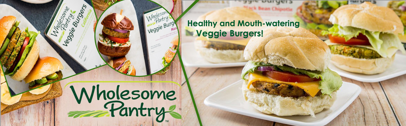 Wholesome Pantry Veggie Burger